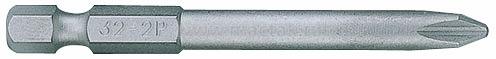 """Вставка (бита) торцевая 1/4"""", Phillips, PH2, L = 50 мм, для шуруповерта KING TONY 715002P"""