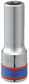 "Головка торцевая TORX Е-стандарт 1/2"", E22, L = 77 мм KING TONY 427522M"