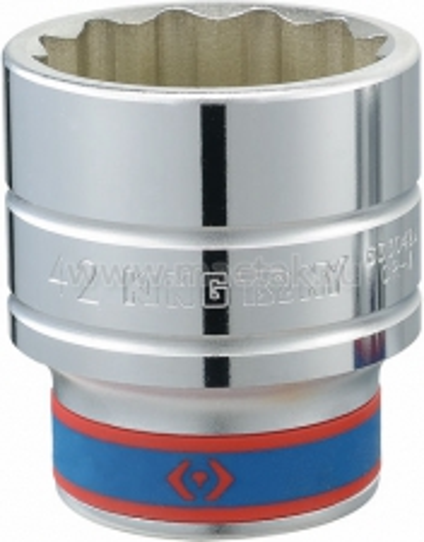 "Головка торцевая стандартная двенадцатигранная 3/4"", 26 мм KING TONY 633026M"