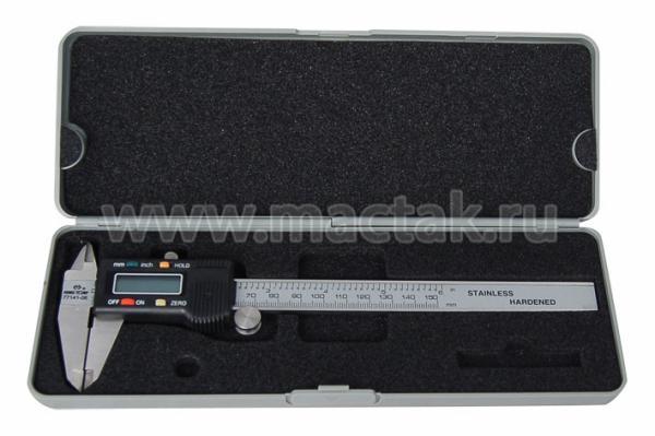 Штангенциркуль 150 мм, с электронным индикатором KING TONY 77141-06