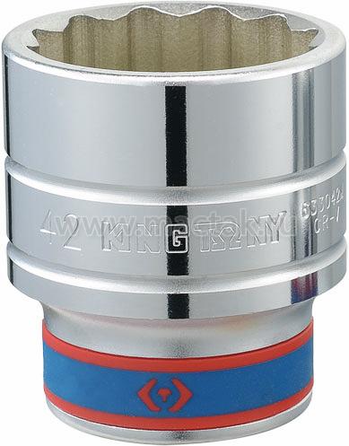 "Головка торцевая стандартная двенадцатигранная 3/4"", 38 мм KING TONY 633038M"