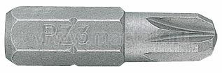 """Вставка (бита) торцевая 1/4"""", Pozidriv, PZ1, L = 25 мм KING TONY 102501Z"""