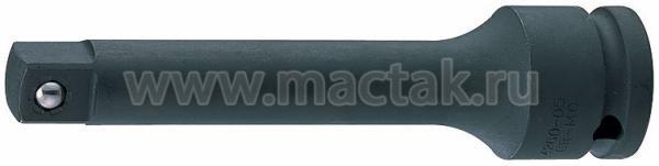 """Удлинитель ударный 1/2"""", 125 мм, с шариковым фиксатором KING TONY 4260-05P"""