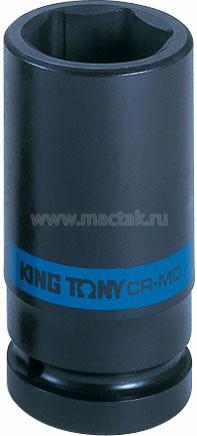 "Головка торцевая ударная глубокая шестигранная 3/4"", 40 мм KING TONY 643540M"
