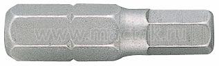 """Вставка (бита) торцевая 1/4"""", HEX, 5 мм, L = 25 мм KING TONY 102505H"""