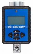 "Электронный динамометрический адаптер 3/8"", 27-135 Нм, кейс KING TONY 34307-1A"