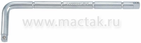 "Вороток 1/2"", 300 мм, 90 градусов, L-образный KING TONY 4584-12R"