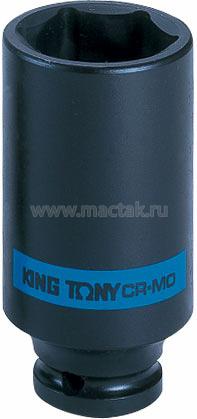 "Головка торцевая ударная глубокая шестигранная 1/2"", 34 мм KING TONY 443534M"