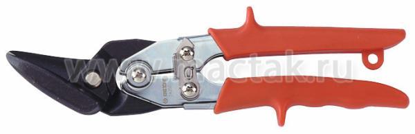 Ножницы по металлу 260 мм, левые, загнутые KING TONY 74350