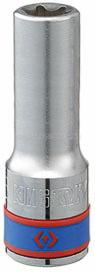 "Головка торцевая TORX Е-стандарт 1/2"", E20, L = 77 мм KING TONY 427520M"