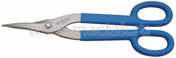 Ножницы по металлу 178 мм, прямые, тонкие KING TONY 74607