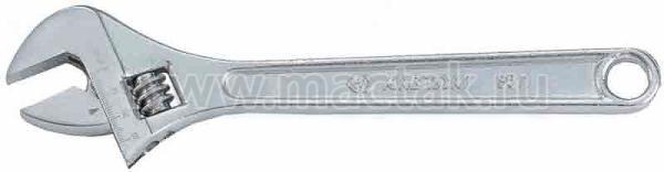 Ключ разводной Chrome 375 мм KING TONY 3611-15HR