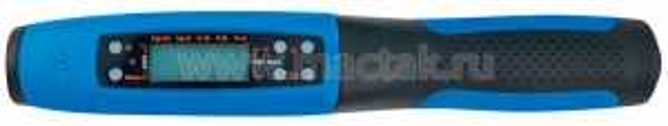 """Электронный динамометрический ключ 1/2"""", 40-200 Нм, цифровой дисплей, кейс KING TONY 34467-1AG"""