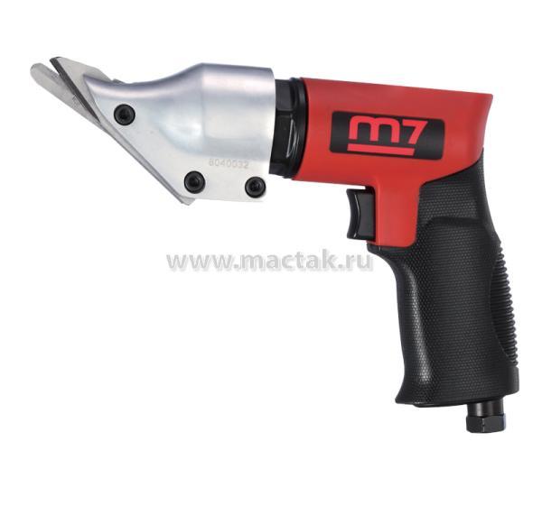 Пневмоножницы 2600 ход/мин, сталь до 1,2 мм, пистолетная рукоять MIGHTY SEVEN QG-202