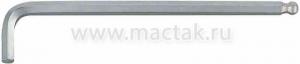 Шестигранник Г-образный 4 мм, с шаровым окончанием KING TONY 112004M