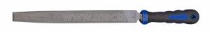 Напильник 200 мм, с рукояткой, прямоугольного сечения KING TONY 75102-08G
